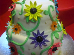 Daisy Cake (Evon Khooshabeh) Tags: christmas flowers red blackandwhite baby elephant cars cakes pool hat swimming butterfly easter shower snowflakes shoe monkey cow colorful creative barbie pregnant valentine gucci delicious poker frogs zebra weddings teacup pecan tiffany slipnslide lollipops bluewhite teaparty stewie biscotti eggnog topsyturvy tastey bonvoyage angelinaballerina communions madrigras 2tiers 3tiers 5tiers pecancups