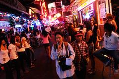 Blind Beggar and Prostitutes (Leonid Plotkin) Tags: thailand asia blind bangkok prostitute beggar prostitutes redlightdistrict begging sukhumvit bargirls soicowboy