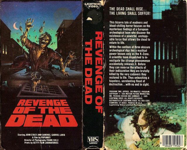 Revenge Of The Dead (VHS Box Art)