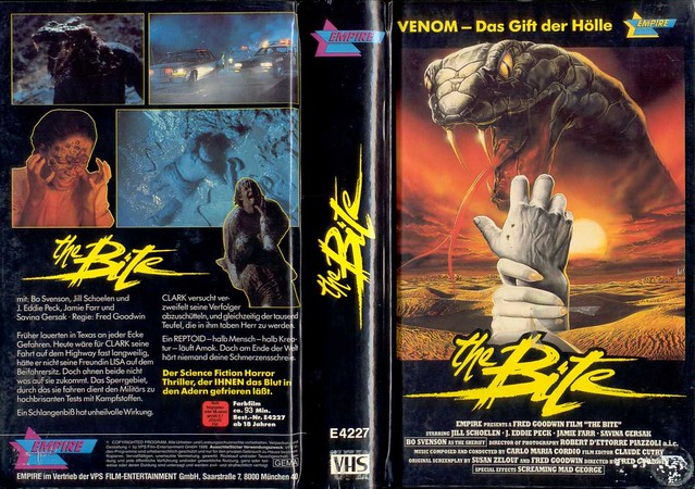 The Bite (VHS Box Art)