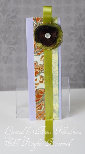 """Isabella"" bookmark"