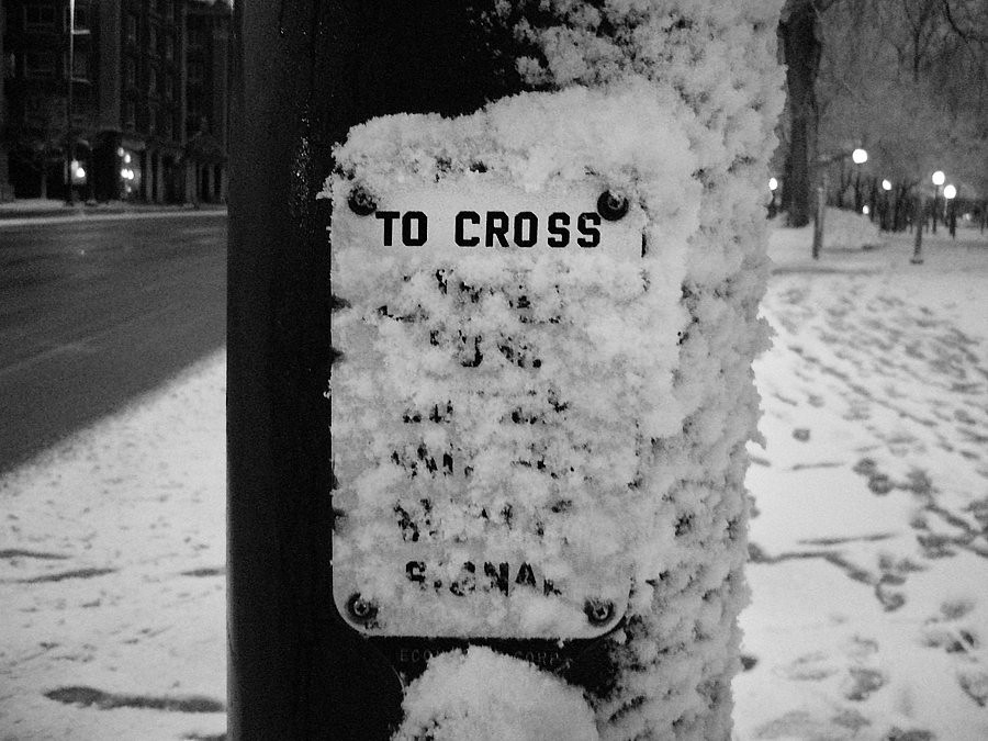 To Cross...