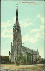 St. Michael Cathedral, Toronto, Ontario, Canada (1910) (Toronto Public Library Special Collections) Tags: toronto ontario canada churches cathedrals canadian postcards historical tpl torontopubliclibrary torontochurches torontopubliclibrary specialcollections ontariohistory canadianhistoricalpicturecollection stmichaelcatheral