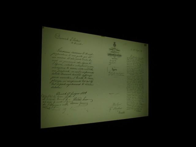 オルヴィエートの手紙のフリー写真素材