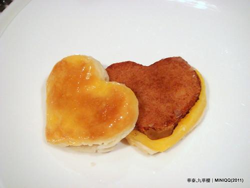 20110209 華泰飯店九華樓_18 玉桂蘋果酥(3/NT.140)
