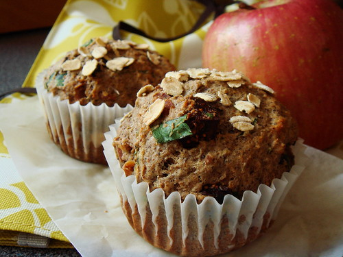 Fig & Bacon Buckwheat Muffin