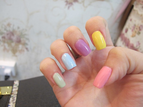 Singapore Lifestyle Blog, nadnut, Easter nails