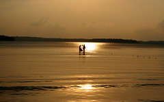 Catching the Sun (Monsoon Lover ( leaving Flckr)) Tags: life sunset sea sun india nature fishing flickr story tsunami andaman sharmin bayofbengal portblair wandoor sudipguharay wandoorbeach surmaifish storyofexistance