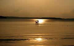 Catching the Sun (Monsoon Lover) Tags: life sunset sea sun india nature fishing flickr story tsunami andaman sharmin bayofbengal portblair wandoor sudipguharay wandoorbeach surmaifish storyofexistance