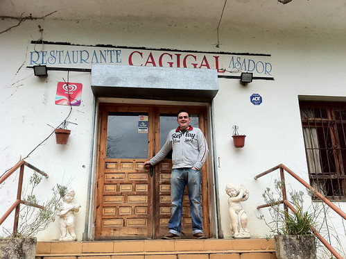 Andrés at Restaurante Cagigal