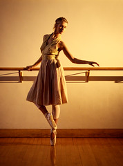 Practice (tianxiaozhang) Tags: sunset portrait ballet beautiful 35mm afternoon flash dancer location practice elegant rembrandt hardlight ef1740l eos500d