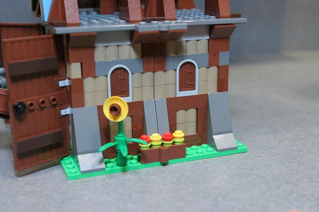 LEGO Toy Fair - Kingdoms - 7189 Mill Village Raid - 28. 663 pieces