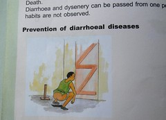 Prevention of Diarrhoeal Diseases (cowyeow) Tags: poverty africa school illustration children bathroom book education african poor culture illustrations toilet health crap poop shit poo uganda prevention disease textbook parasite textbooks sanitation treatment diarrhea parasitic kilembe