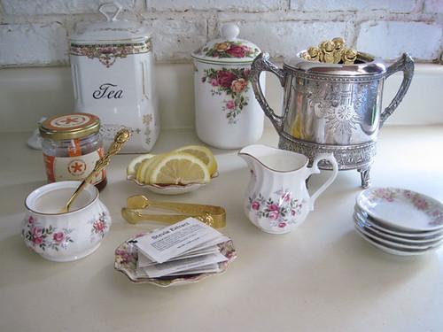 Tea Prep Area