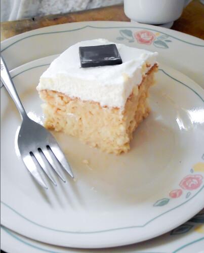 Dunk Twice: Tres Leches Cake (Three Milk Cake)