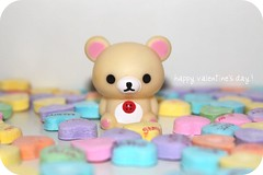 (iheartkitty) Tags: cute love hearts candy kawaii valentinesday sanx korilakkuma