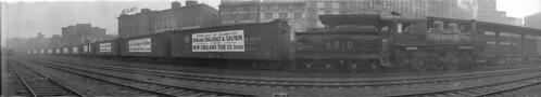 vancouverbc fisheries panoramicphotographs railroadsfreight railroadslocomotives