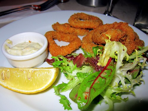 Deep Fried Salt and Pepper Squid with Tartare Sauce