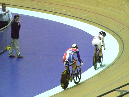 Pendleton leads James in the Sprint