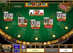 Multi-Hand 3 Card Poker