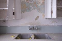 Sink and Drawers II (Photadyta) Tags: abandoned sink urbanexploration asylum statehospital kirkbride