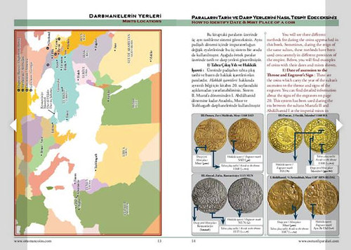 Ottoman Empire Coins sample page