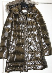Dug up very shiny ladies long brown down filled coat (longyman) Tags: ladies abandoned rotting trash found clothing junk shiny coat down clothes jacket rubbish waste discarded nylon downcoat waterproof landfill thrown padded rotted downjacket dugup thrownaway nyloncoat pufferjacket bubblejacket puffajacket nylonjacket puffercoat puffacoat bubblecoat