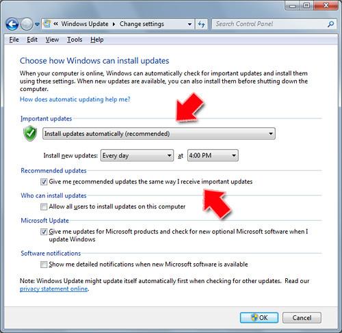 Turn On Windows Update
