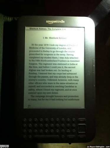 Kindle Leather Cover With Light 08