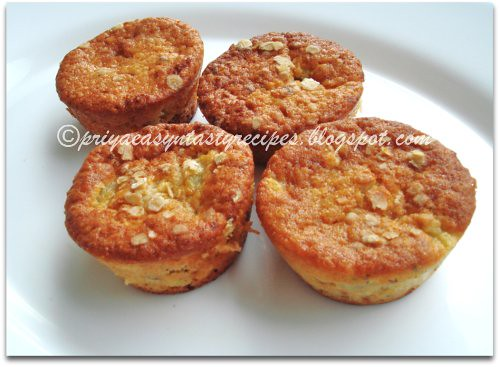 Sugarfree Eggless Kiwi Muffins