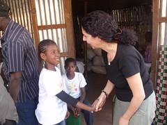 La petite Fatoumata était là aussi.