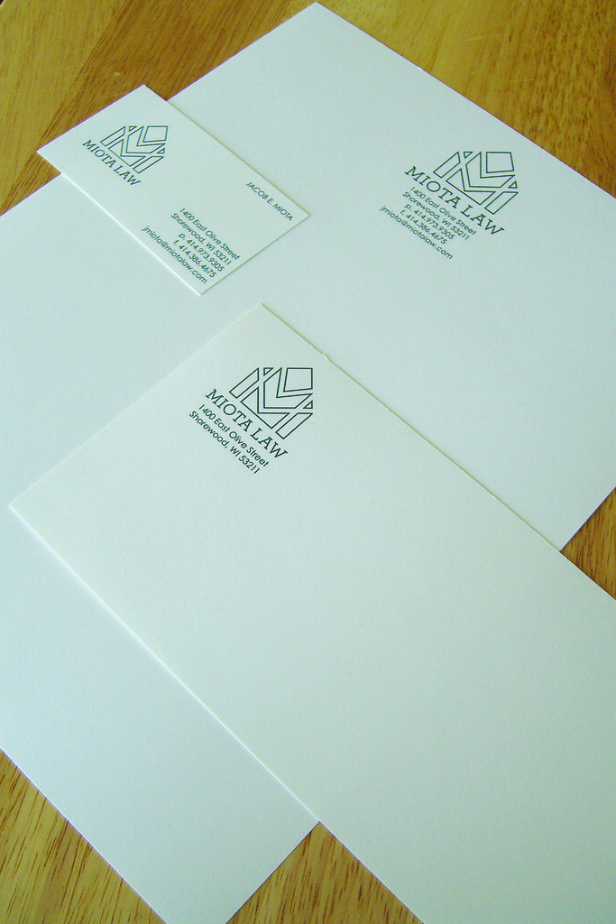 Miota Law Stationery Suite