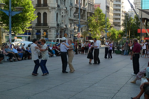 Dancing in the park - Montevideo, Uruguay