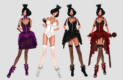 Dresses from Ezura for the vampire princess