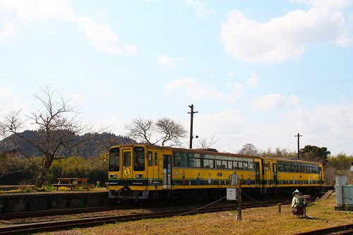 ムーミン列車-Moomin Train (Isumi Railway)