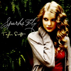 Taylor Swift - Sparks Fly (inspiration1990) Tags: musicians taylor swift cdcovers fanmade