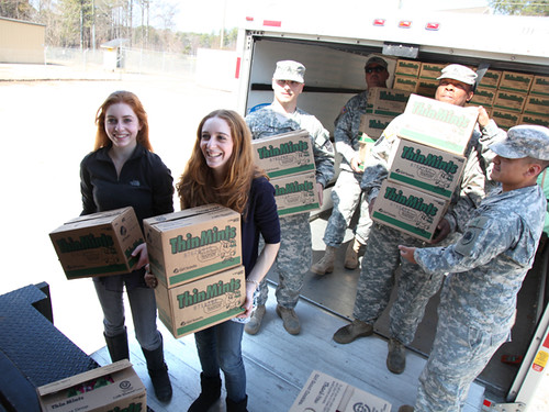 Girl Scout Cookies for Soldiers abroad