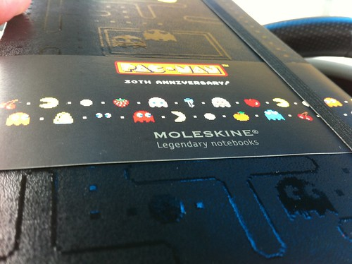 Awesome Pacman Moleskin