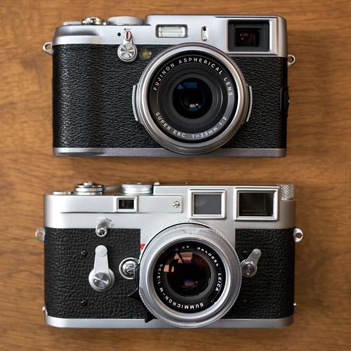 Leica M3 versus Finepix X100
