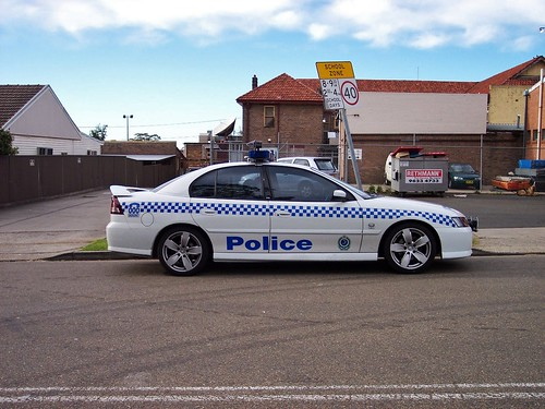 2003 Holden VY Series II Commodore SS - NSW Police