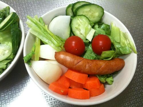 朝食サラダ(2011/3/5)