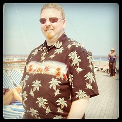 Me at forty. Cruising the Caribbean, looking for Margaritaville. by ObieVIP