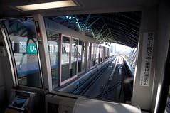 Yurikamome Track Station (rocketdogphoto) Tags: station japan minato yurikamomeline odaibaisland