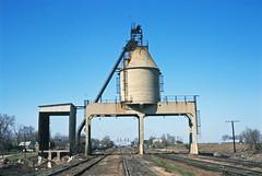 Nelson Coal Dock May 1970, Lloyd Rinehart Photo (wjmanon74) Tags: railroad tower concrete illinois dock nelson coal cnw chicagonorthwestern nelsonillinois coaldockcoaltower