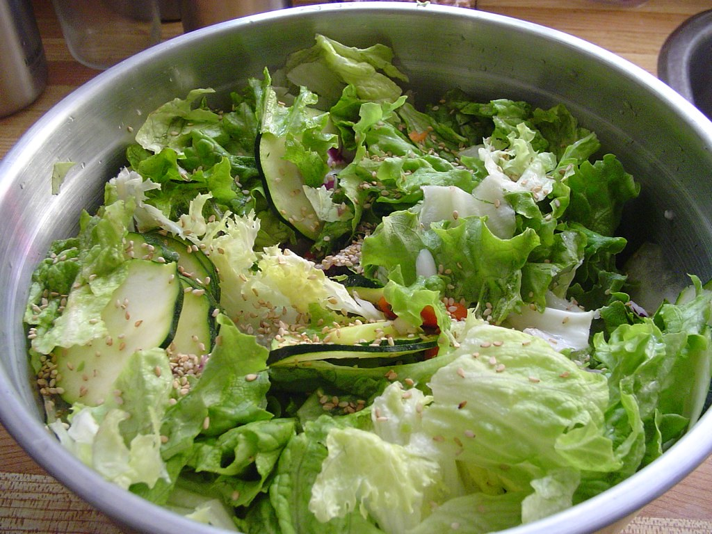 Big green salad