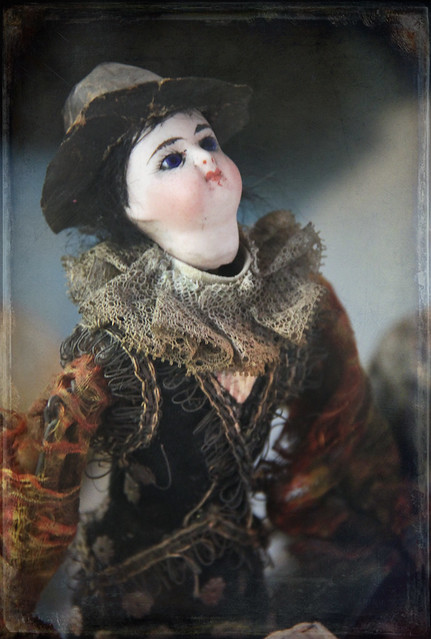 Organ grinder doll, Germany, 1870-1880