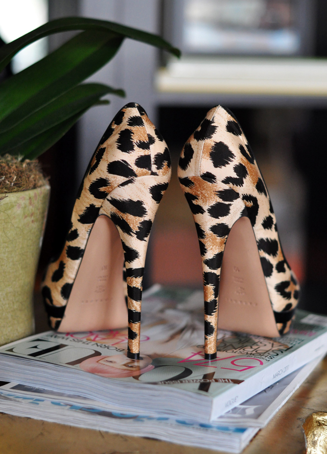 the prettiest leopard print shoes I've ever seen, Casadei leopard print peep toe platform stilettos, my shoes, pretty shoes, photos of shoes, DSC_0172