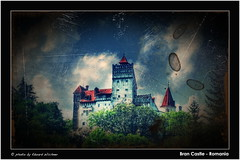 Bran Castle ( Eduard Wichner) Tags: sunset sea sky panorama cute castle water sunshine night sunrise river dark spectacular lens stars landscape waterfall nice blood nikon funny long exposure flickr stitch dusk vampire district pano extreme wide steps dracula nikkor transylvania legend reflexion ultra transilvania brasov vlad bran 18mm tepes draculascastle d60 vladtepes dracul brancastle castelul vladdracul grandangular castelulbran superangular draculalegens