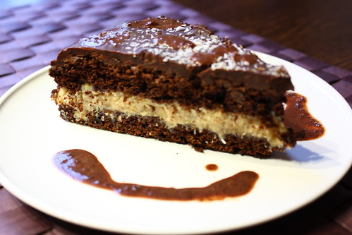 tort ciocolata si cocos