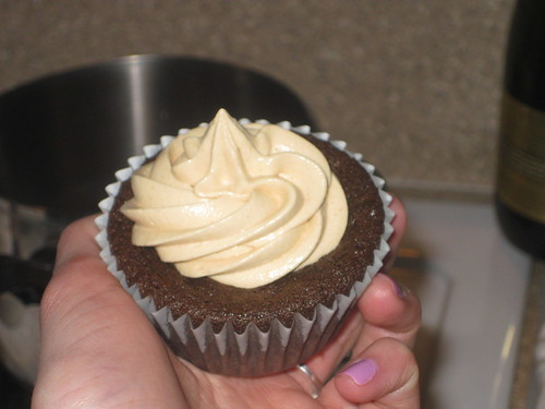 Amazing peanut butter frosting